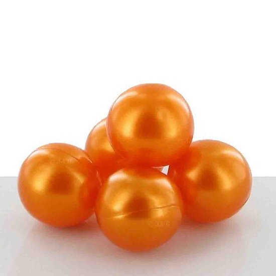 Perle de bain parfumée Monoï perle ronde et orange nacré