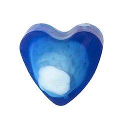 Savon glycérine coeur Blue Sensation 85g peau lisse et hydratée