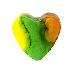Savon glycérine coeur Ananas 85g peau lisse et hydratée