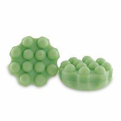 Shampoing solide Thé Vert avec picots vert 55g cheveux délicats