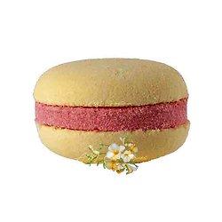 Macaron de bain Freesia effervescent couleur et senteur fraîches