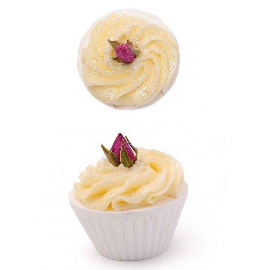 Fondant de bain Rose de Damas nourrissant, parfum fleuri et frais