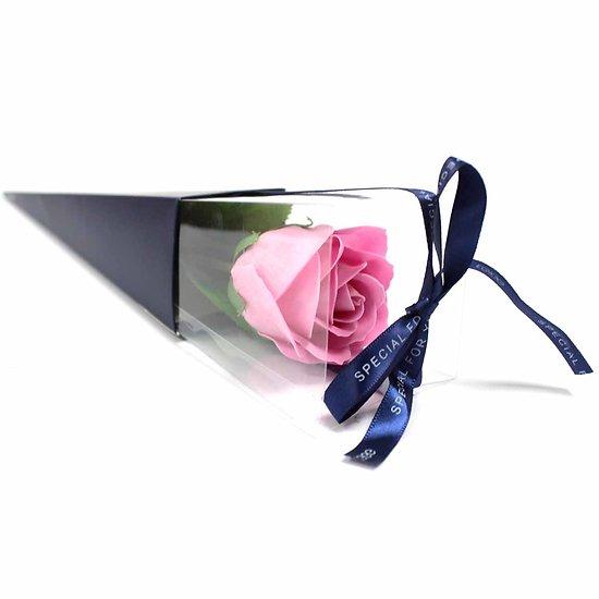 Rose de savon Rose emballage individuel est le cadeau parfait