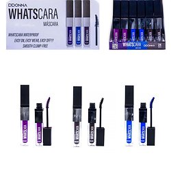 Mascara waterproof couleur en Prune, Bleu et Marron D'donna