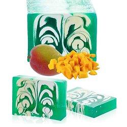 Savon artisanal Mangue 100g un parfum étonnant et belle couleur