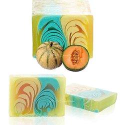 Savon Melon artisanal 100g un parfum étonnant et belle couleur