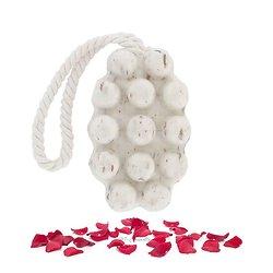Savon de massage Pétales de Rose en 125g exfoliant doux
