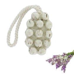 Savon de massage Fleurs de Lavande en 125g exfoliant doux