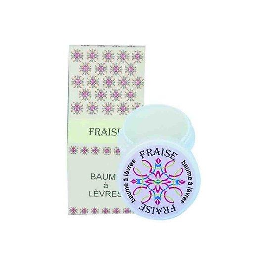 Baume à lèvres Fraise au beurre de karité naturel protection lèvres