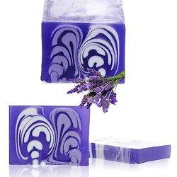 Savon artisanal Lavande 100g doux avec un parfum étonnant