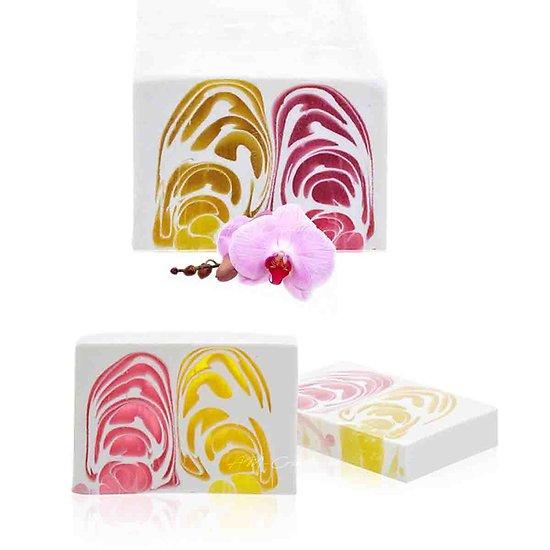 Savon Orchidée artisanal 100g floral avec un parfum étonnant