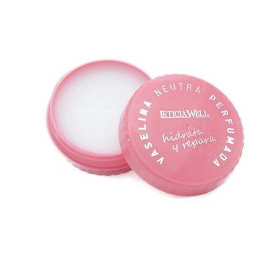 Vaseline neutre parfumée baume à lèvres hydratant Leticia Well