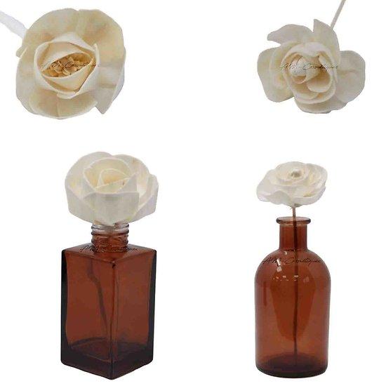 Fleur Rose diffuseur naturel corde ou bâtonnet diffuseur parfum