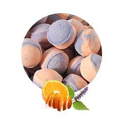 Mini bille de bain Patchouli et Orange un bain mélange floral fruité