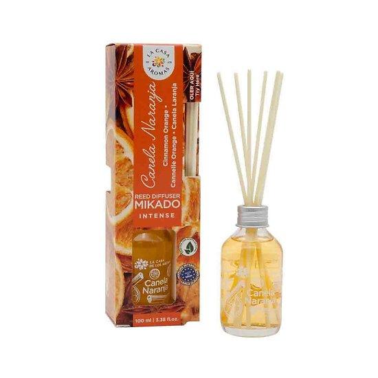 Mikado intense Cannelle et Orange fruité La Casa de los Aromas