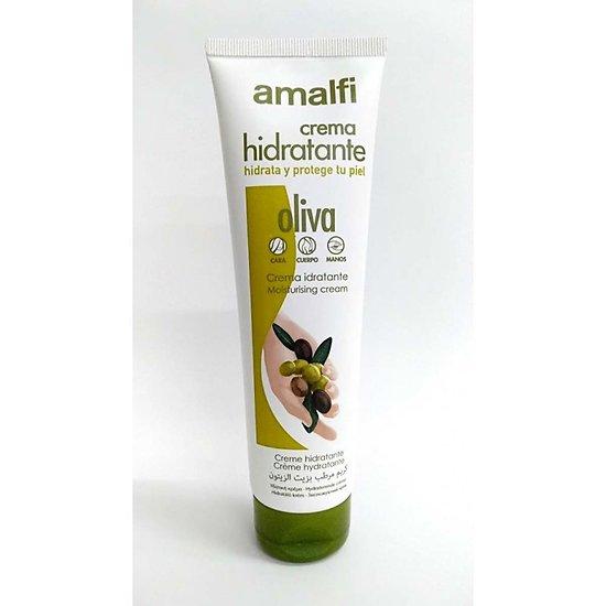 Crème hydratante huile d'Olive tube 150ml tout type peau Amalfi