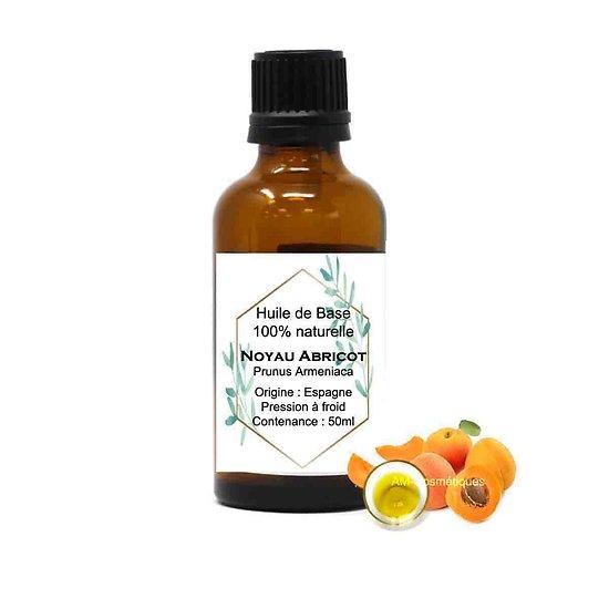 Huile Noyau d'Abricot 50ml huile de base excellente pour la peau