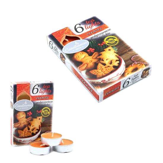 Bougie chauffe-plats parfumée Cookies pour petite pièce