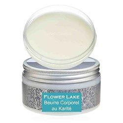 Beurre corporel au karité Flower Lake 180g une peau hydratée