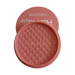 My Blush Rose Abricot fard à joues poudre compacte Leticia Well