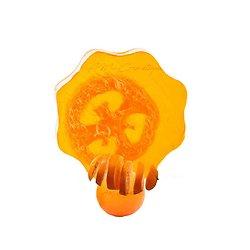 Savon artisanal Loofah Orange 100g pour exfolier votre peau