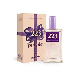 Eau de Toilette Purple pour femmes en spray 100ml Prady Parfums