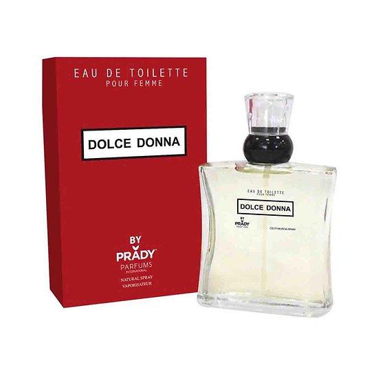 Eau de Toilette Dolce Donna femmes spray 100ml Prady Parfums
