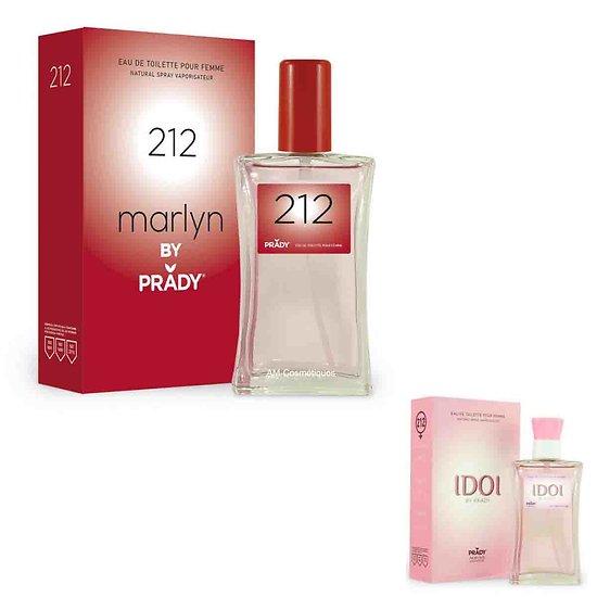 Eau de Toilette IDOI pour femmes en spray 100ml Prady Parfums