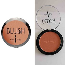 Fard à joues Naturel 01 blush poudre compacte Lovely Pop