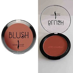Fard à joues Marron Chocolat blush poudre compacte Lovely Pop