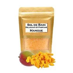 Sel de bain parfumé Mangue bain aromathérapie et relaxant