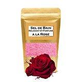 Sel de bain à la Rose bain aromathérapie, parfumé et relaxant