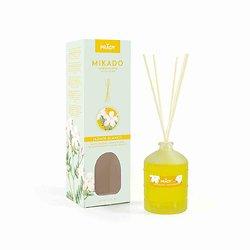 Mikado Jasmin Blanc diffuseur parfum d'ambiance 100ml Prady