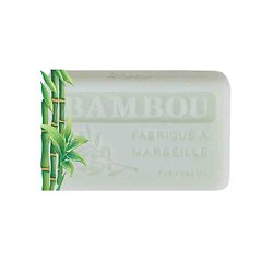 Savon de Provence Bambou 125g enrichi au beurre de karité bio