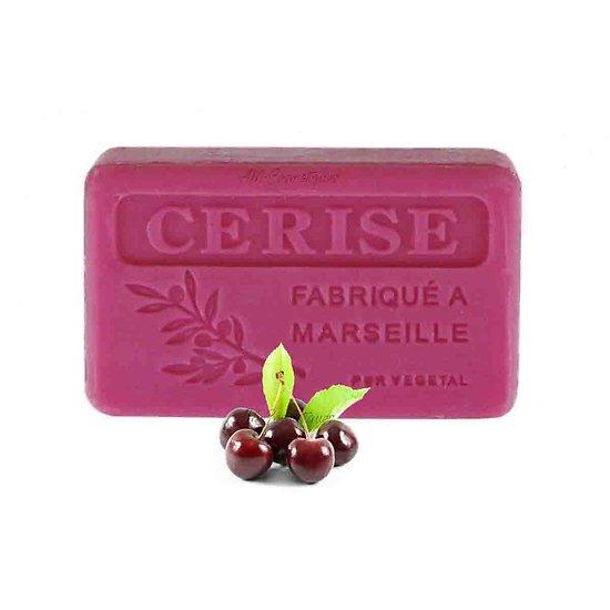 Savon de Provence Cerise 125g enrichi au beurre de karité bio