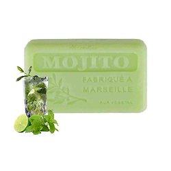 Savon de Provence Mojito en 125g enrichi au beurre de karité bio