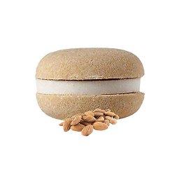 Macaron de bain Amande effervescent huile d'avocat et tournesol