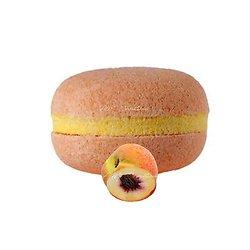 Macaron de bain Pêche effervescent couleur et senteur fraîches
