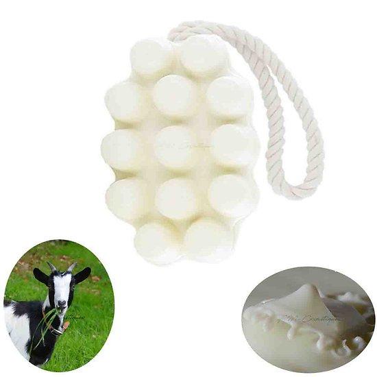 Savon de massage Lait de Chèvre bio en 125g doux pour la peau