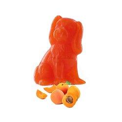 Savon fantaisie Chien parfumé Abricot 25g coloris orange soap