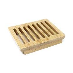 Porte-savon Boîte en bois d'hemu posez et faire sécher son savon