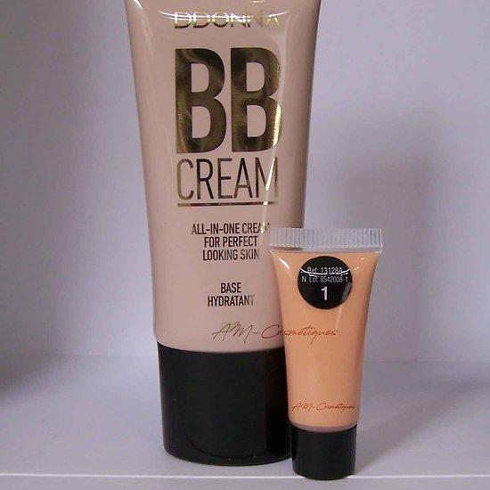 BB crème hydratante Sable 40ml base teint effet mat D'donna