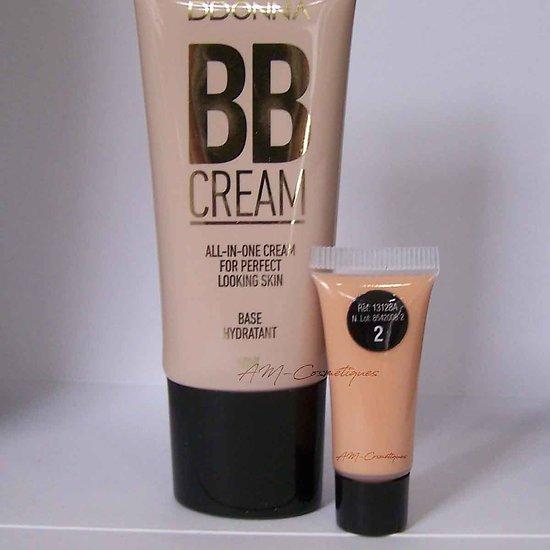 BB crème hydratante Naturel Beige 40ml base effet mat D'donna