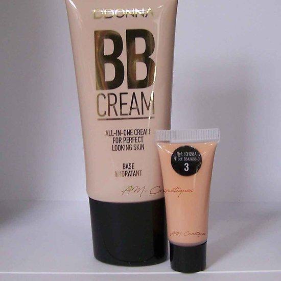 BB crème hydratante Milk-shake 40ml base effet mat D'donna