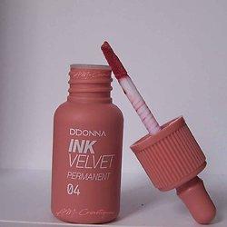 Encre à lèvres Saumon gloss Ink Velvet permanent D'donna