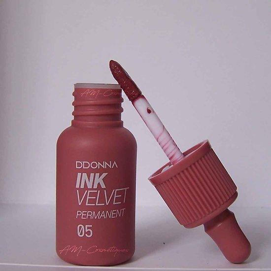 Encre à lèvres Cramoisie gloss Ink Velvet permanent D'donna