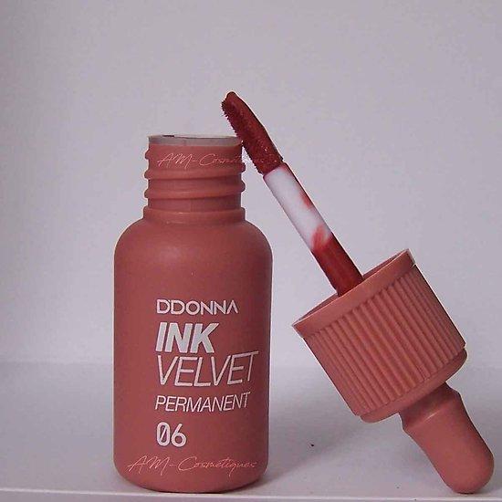 Encre à lèvres Corail gloss Ink Velvet permanent D'donna