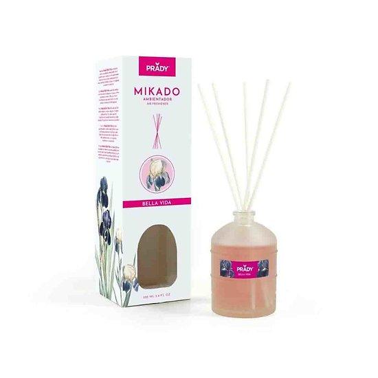 Mikado Bella Vida parfum d'ambiance désodorisant 100ml Prady