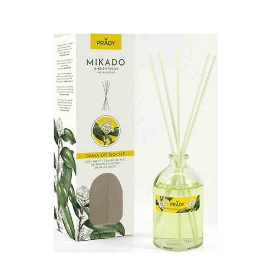 Mikado Dame de Nuit fleur blanche parfum ambiance 100ml Prady