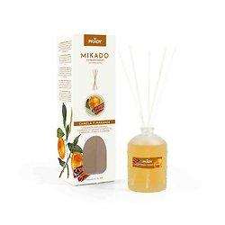 Mikado Cannelle et Orange désodorisant parfumé 100ml Prady